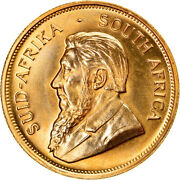[895722] Coin South Africa Krugerrand 1980 Gold Km73