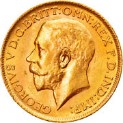 [895882] Coin Great Britain George V Sovereign 1916 Ms63 Gold Km820