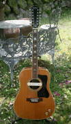 Epiphone Ft-365 Texan 12 Mid '70 Natural Pick Up 12-string Acoustic Guitar