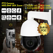 5mp Ai Auto Tracking Ip Ptz Dome Camera Poe 30x Zoom Hikvision Compatiable With