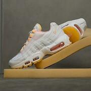 Nike Air Max 95 White Size 6-9 Arctic Punch-melon Tint Womens Shoes New