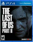 The Last Of Us Part Ii Standard Edition - Playstation 4 Playstation 5