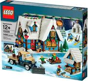 New Lego Creator Expert 10229 Winter Village Cottage Holiday Fireplace Firewood