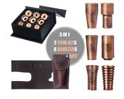 Gift Pack.yamaha Trumpet Trim Kit +booster+gift. Antique Copper Lacquer.kgubrass