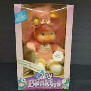 Baby Blinkins Doll Baby Shimmer 1980andrsquos Ljnandrsquos Toys Fairy Glow-bugs Nib Pink 8170
