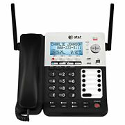 Atandt Synj Sb67158 Dect 6.0 4-line Corded/cordless Small Business Phone System Wi