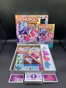 My Little Pony The Movie Monopoly Junior Friendship Festival Game - 95 Complete