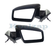 10-16 Benz E-class Mirror Power Folding Heated W/memory And Turn Signal Set Pair