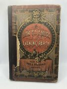 Rare 1869 How To Amuse An Evening Party Collection Of Home Recreations Book