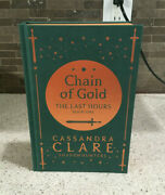 Chain Of Gold Signed Illumicrate Exclusive Hardcover By Cassandra Clare