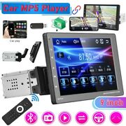 9 Car Radio Apple/android Carplay Bluetooth Car Stereo Touch Screen Single 1din