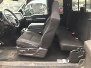 08 09 10 Ford F-250 F-350 Extended Cab Black Cloth Complete Interior