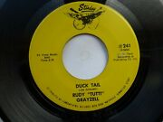 Rudy Grayzell 45 And039duck Tailand039 Usa Starday Killer 1956 Texas Rockabilly 1973 Re Vg