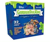 2020 Topps Garbage Pail Kids Gpk Chrome Sapphire Factory Sealed 8-pack Box