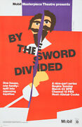 Original Vintage Poster By The Sword Divided Bbc Tv Series 17th Century England