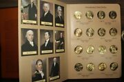 Us Presidential One Dollar Coin Set - 80 Coins From P And D Mints In Dansco Folder