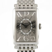 Franck Muller Watches 902qz Silver Gray Stainless Steel Long Island