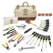 Tool Kit 28-piece Adjustable Wrench Cutting Pliers Individual Screwdrivers