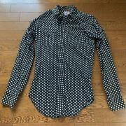 60s Levi And039s Saddleman Dot Pattern Men Size M Tops Long Sleeves Fashion Clothes