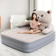 Inflatable 2 Person Pvc Thickening Portable Sleeping Inflatable Bed Air Mattress