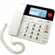 Jekavis J-p47 Sos Home Corded Phones With Big Button/caller Id/light Button.....