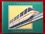 Sydney Monorail 1st Commemorative Token Issue - 1988 Tnt Darling Harbour