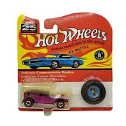 Vintage Hot Wheels The Demon Magenta 5730 1993 Red Lines Diecast Car [m1