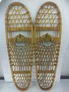 Vermont Tubbs Vintage 10andtimes36 S-8 Snowshoes W/ Nordic Norm Troll 3 Pin Binding