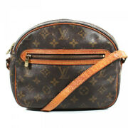 Louis Vuitton Small Vintage Shoulder Brown Leather Dome Camera Bag