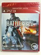 Battlefield 4 Ps3 Greatest Hits Brand New And Factory Sealed Free Shipping