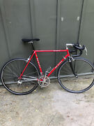 De Rosa 54cm Vintage Collectable -near Mint- Red/silver. Immaculate