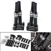 Lifter Tappet Block Covers Andengine Pushrod Tube For Harley Softail Custom Fxstc