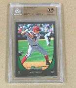 2011 Bowman Draft 101 Mike Trout Rc Bgs 9.5 W/10 Surface 1199.99