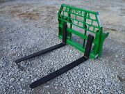 John Deere Tractor Attachment - 48 Pallet Forks 600 700 Series - Ship 199