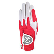 4 Zero Friction Womenand039s Compression One Size Golf Gloves - Right Hand - Red