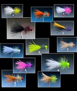 Qty3 1/16 1/32 1/64 Buggy Crappie Trout Bluegill Hand Tied Jig Sickle Hook