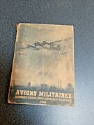 Avions Militaires Military Aircraft Aid For Identification Uk/us Russian German