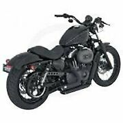 Vance And Hines Vance And Hines Exhaust Shortshots Black Harley 04-11 Sportster