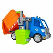 Blippi Talking Recycling Truck/garbage Truck With 3 Blippi Figure-new Release