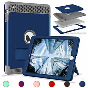 Hybrid Rugged Case For Ipad 234 5th 6th Generation Mini 12345 Tough Rubber Cover