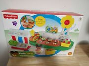 New In Box Fisher-price Little People Farm Garden And Stand