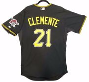 Authentic Majestic, 48 Xl, Pittsburgh Pirates Roberto Clemente, Cool Base Jersey
