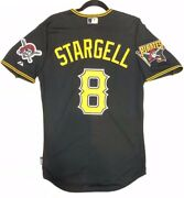 Authentic Majestic, 48 Xl, Pittsburgh Pirates Willie Stargell, Cool Base Jersey