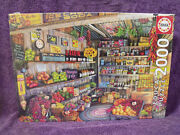 Educa 2000 Piece Jigsaw Puzzle The Farmers Market By Aimee Stewart Hard To Find
