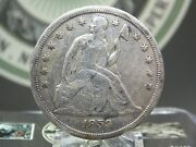 1859 S Seated Liberty Silver Dollar 1 1 East Coast Coin And Collectables Inc.