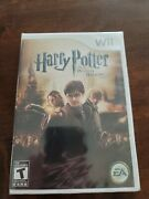 Harry Potter And The Deathly Hallows Part 2 Wii Nintendo Brand New Sealed Rare