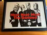 The Damned Framed 'neat Neat Neat' Original 1977 Punk Poster