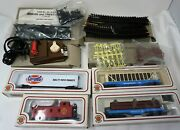 Ho Scale Train Lot Bachmann New Electric Trains Track Set Power Pack Signs