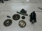 1998 Honda Vt 1100 Vt1100t Strater And Starter Gears Assembly 98