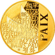[858735] France, 250 Euro, Paix, 2013, Ms65-70, Gold